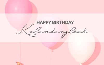 Happy Birthday Kalenderglück